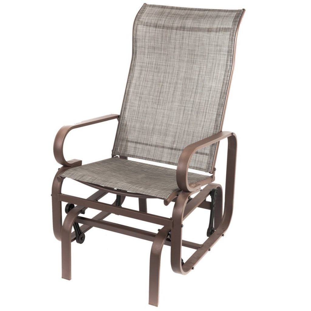 Shop Naturefun Outdoor Patio Rocker Glider Chair All Weatherproof