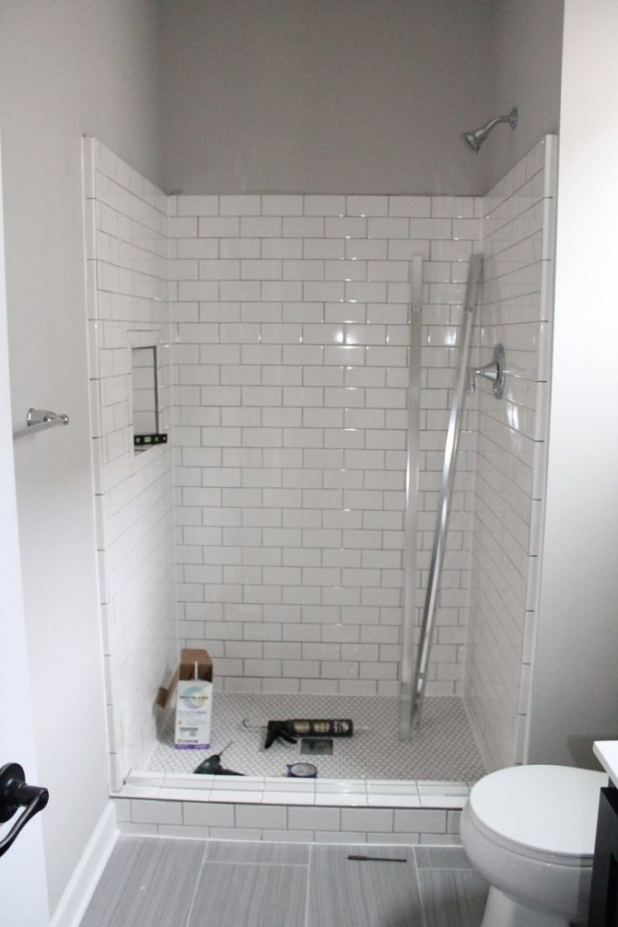 Shorewood Mn Bathroom Remodels Tile Fireplace