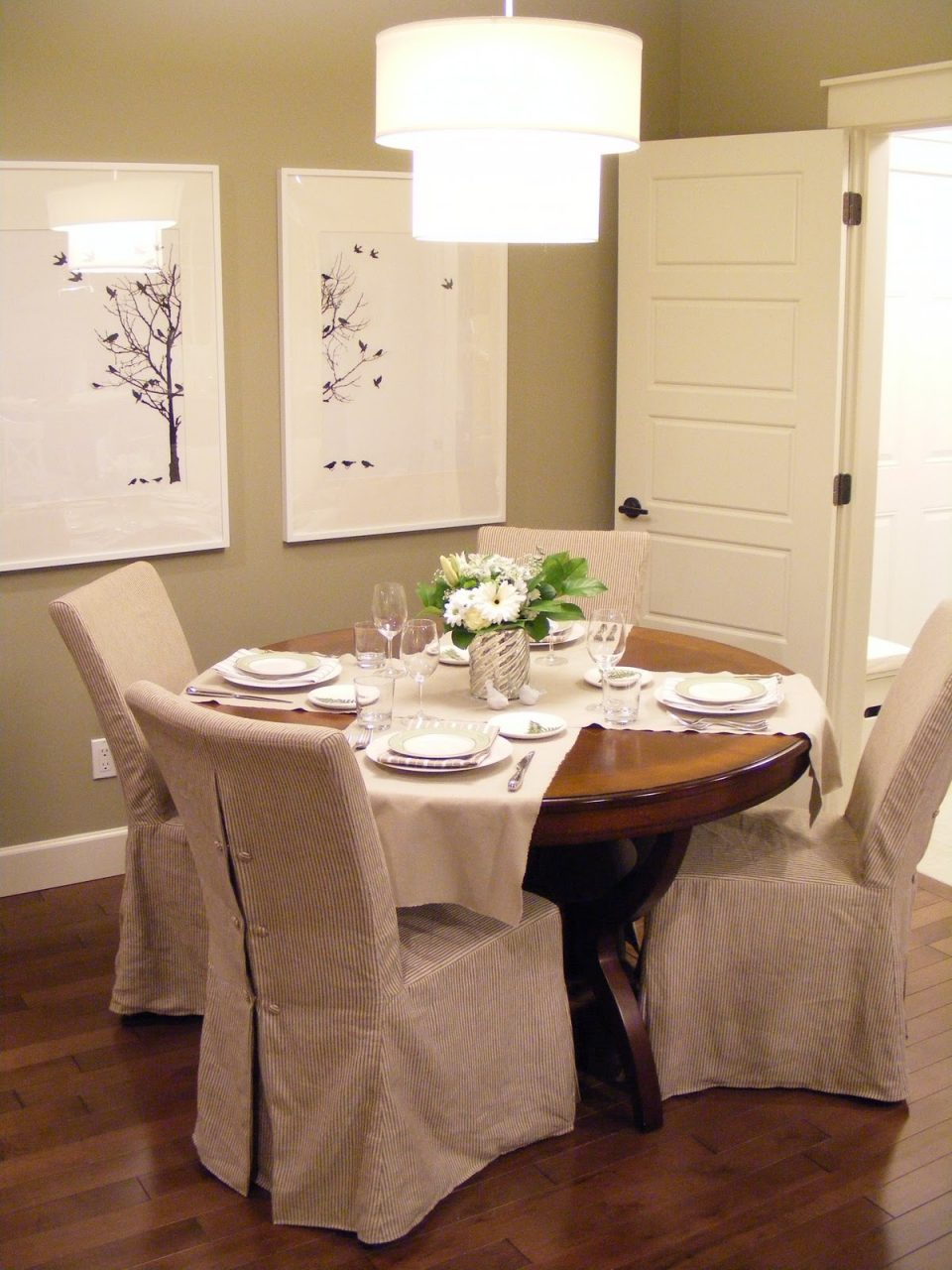 Slipcovers For Dining Chairs With Arms From Uniques Dining Room