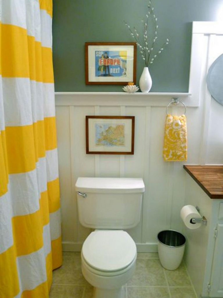Small Bathroom Decorating Ideas On A Budget Decor Pictures Mirror