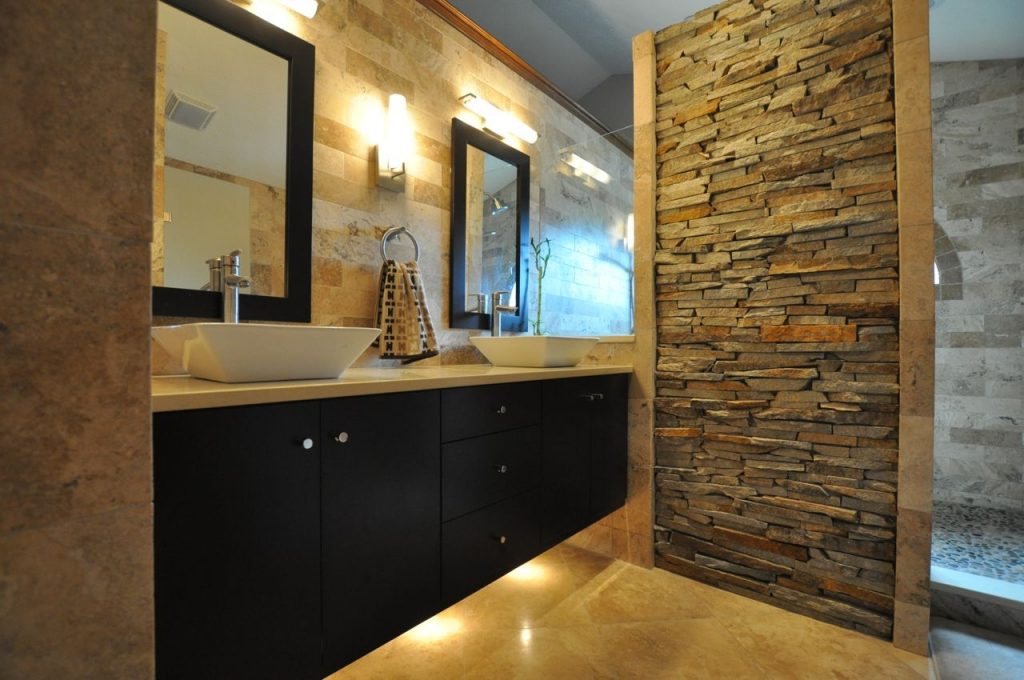 Small Bathroom Makeovers Create The Bigger Bathroom Look The New
