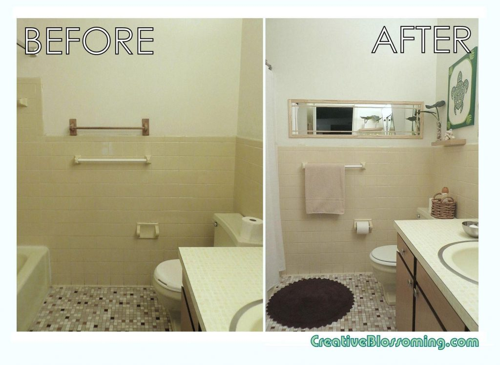 Small Bathroom Remodel Apartment Therapy Small Apartment Bathroom
