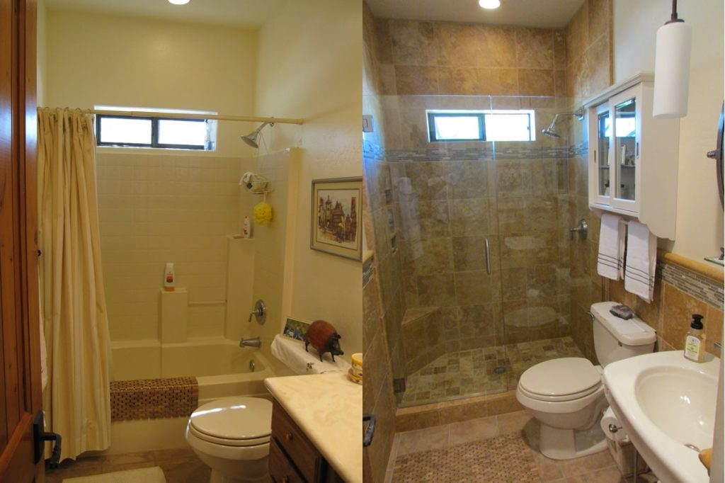 Small Bathroom Small Bathroom Remodel Before And After Bathroom