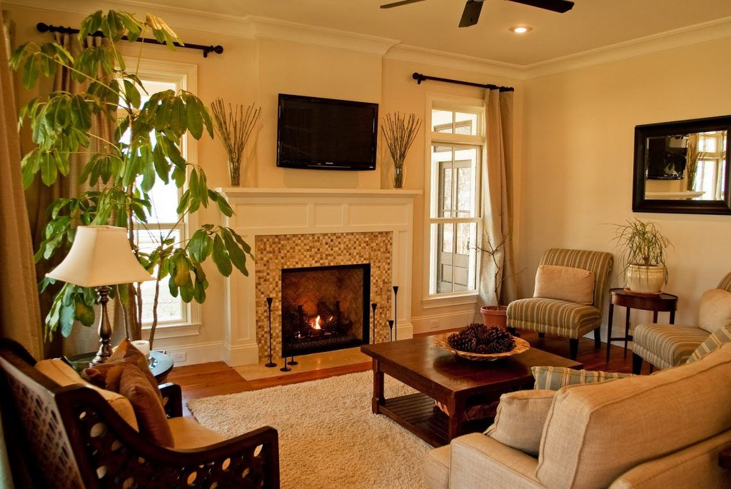 Small Living Room Ideas With Fireplace Image Twgz House Decor Picture