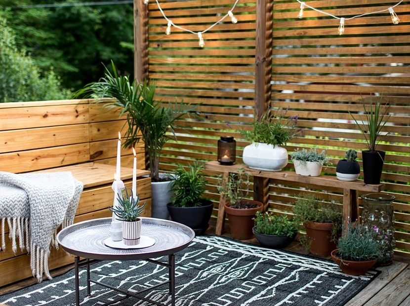 Smart Sneaky Storage Solutions Outdoor Project Ideas Apartment