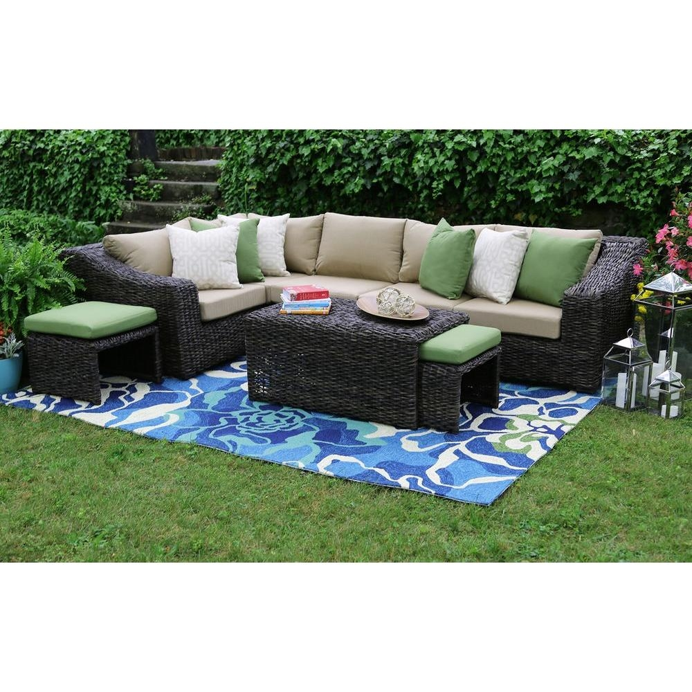 Sofa Patio Conversation Sets Outdoor Lounge Furniture The Home