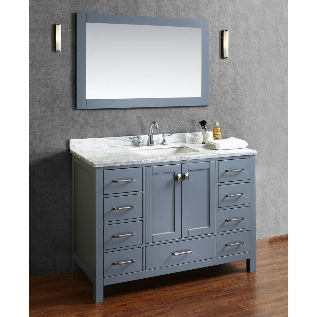 Solid Wood Bathroom Vanity With Top Creative Bathroom Decoration