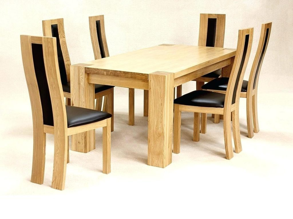 Solid Wood Dining Chairs Vancouver Interesting Decoration Oak Table