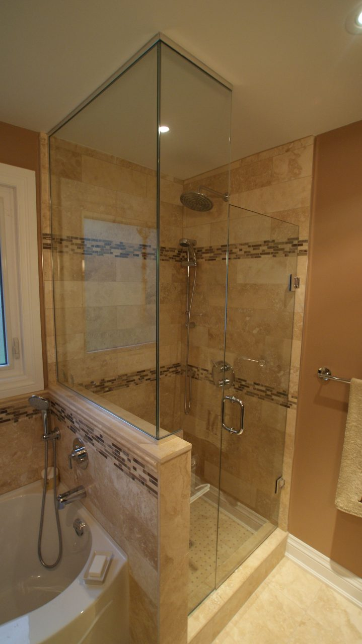 Stand Up Shower Jacuzzi Tub Bathroom Pinte