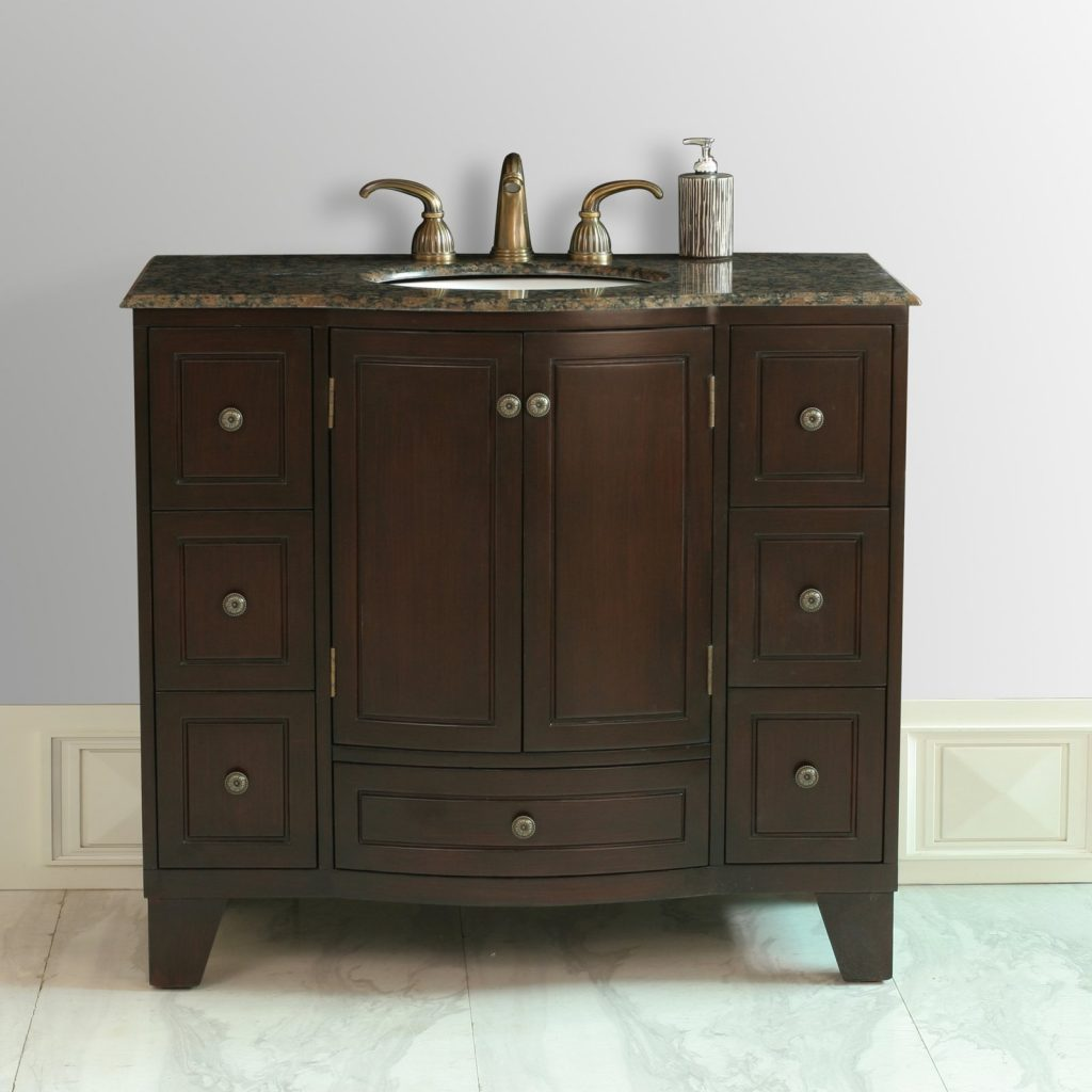 Stufurhome Grand Cheswick 40 In Single Bathroom Vanity Walmart