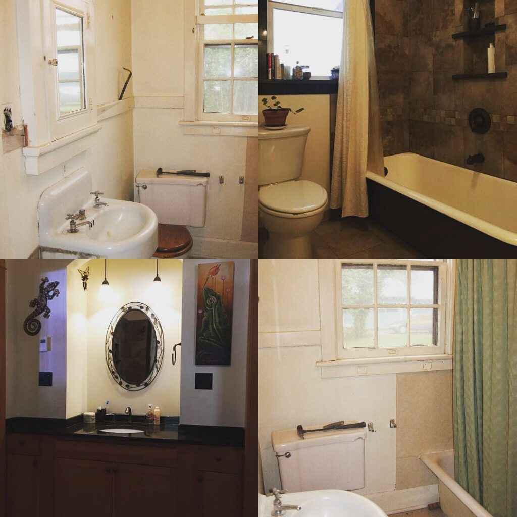 Stunning Bathroom Remodel In A 1920s House Before And After