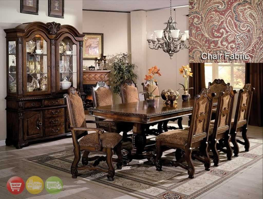 Stunning Dining Room Set With China Cabinet Inspirations Including