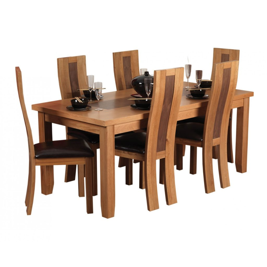 Style In Dining Room Decoration Dining Table Chairs Modern Black