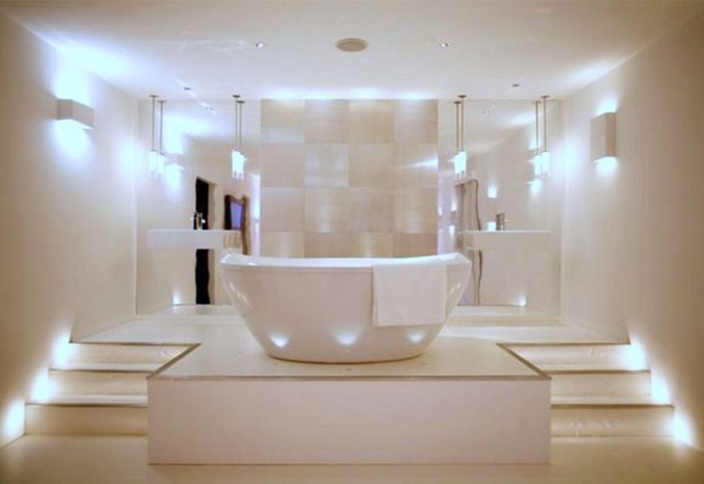 Stylish Bathroom Lighting Ideas Lindsay Decor Good And Common