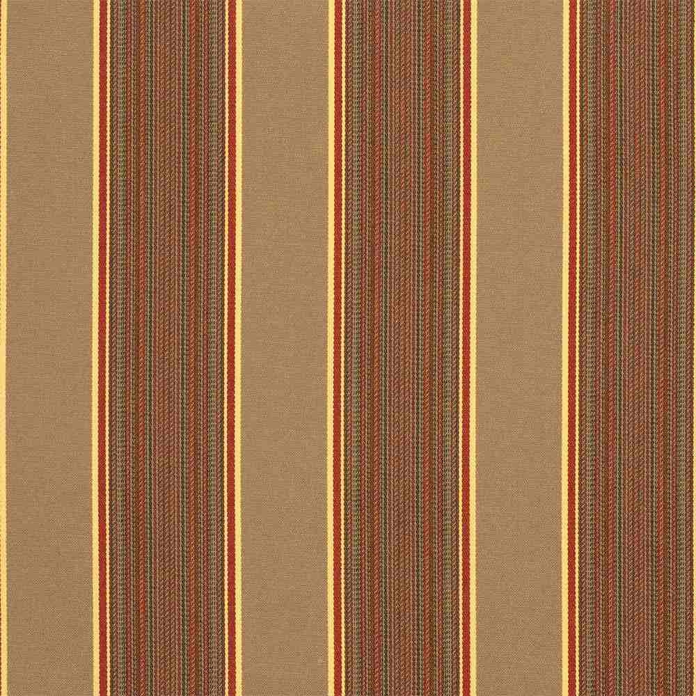Sunbrella 5606 0000 Davidson Redwood Upholstery Fabric Patio Lane