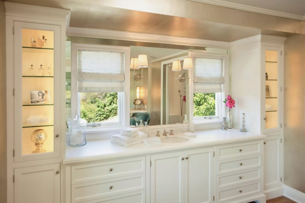 Sure Fire Bathroom Vanity With Tower Closets Cabinets Vanities