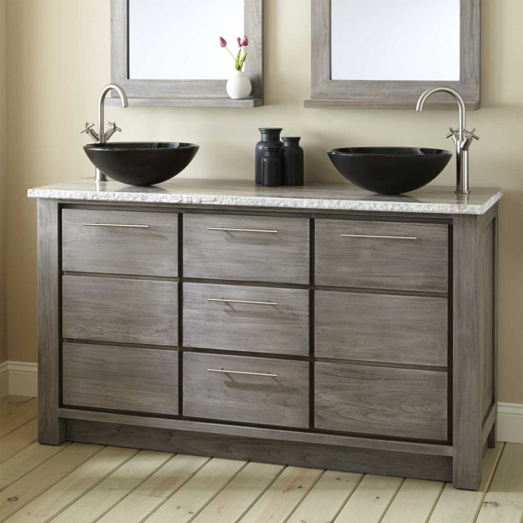 Teak Bathroom Vanity Cabinets Top Bathroom Ideas Bathroom Vanity