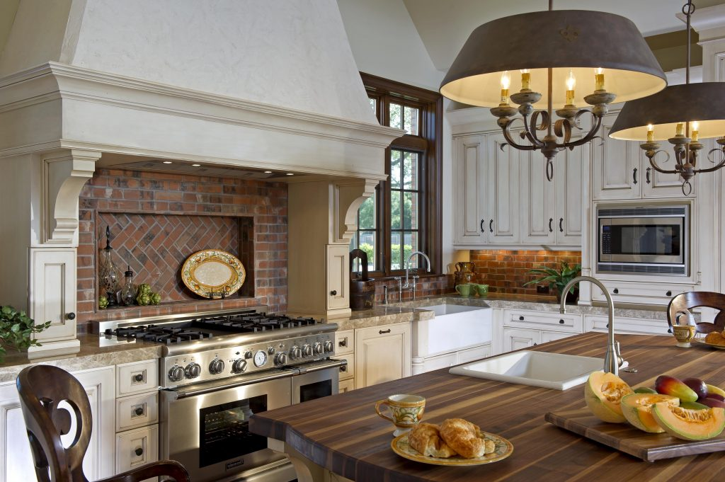 Traditional Kitchen Relaxing Country Kitchen Design Country Wood
