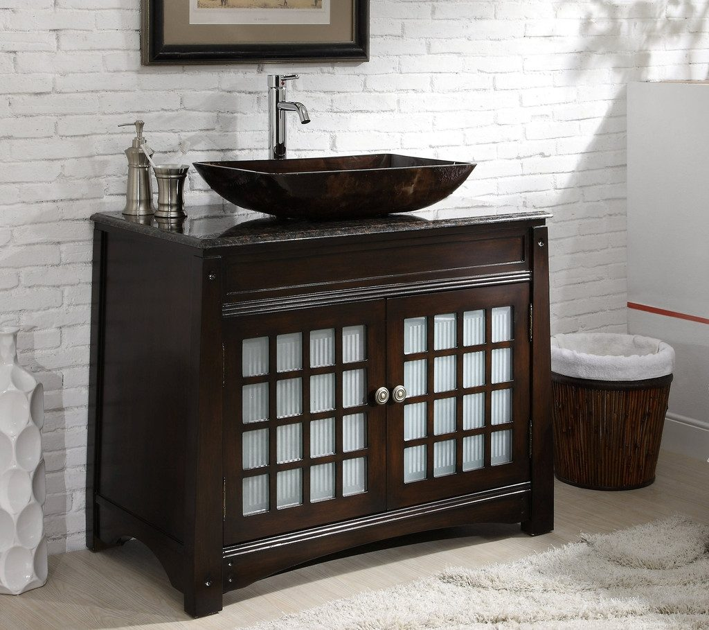 Trendy Bathroom Vanities Vessel Sinks 9 Soluswatches