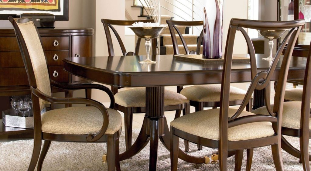 Trendy Wood Dining Room Furniture Sets Thomasville Dining Sets
