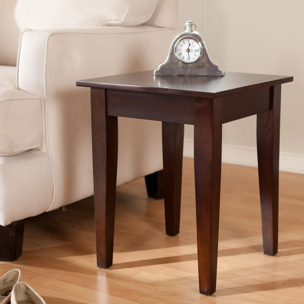 Turner Chair Side Table Oak Hayneedle
