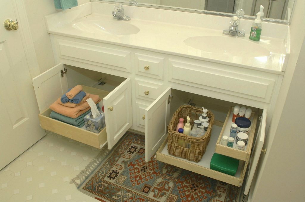 Under Vanity Bathroom Cabinet Organizers New Under Vanity Storage