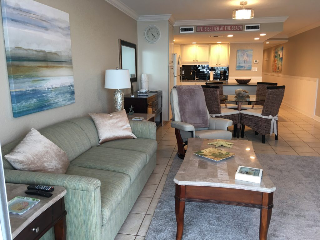 Unit 1106 Oceanfront Condo 1 Br 2 Ba Remodeled From Top To