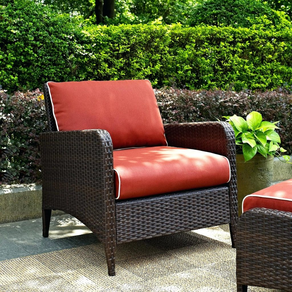 Value City Outdoor Furniture Corona Outdoor Chair Sangria Garden