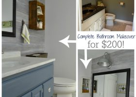 Bathroom Quick Makeover