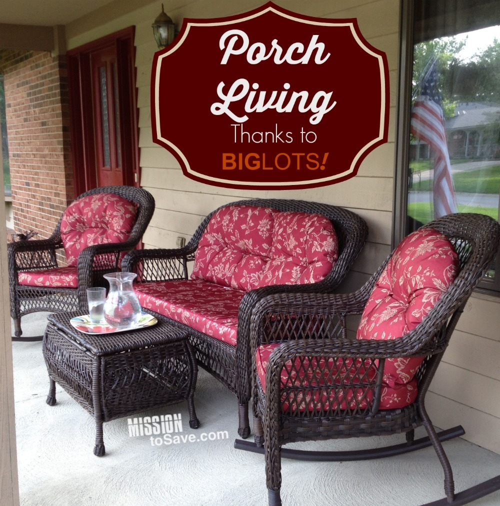 Ways To Save At Big Lots Mission Trends And Patio Furniture