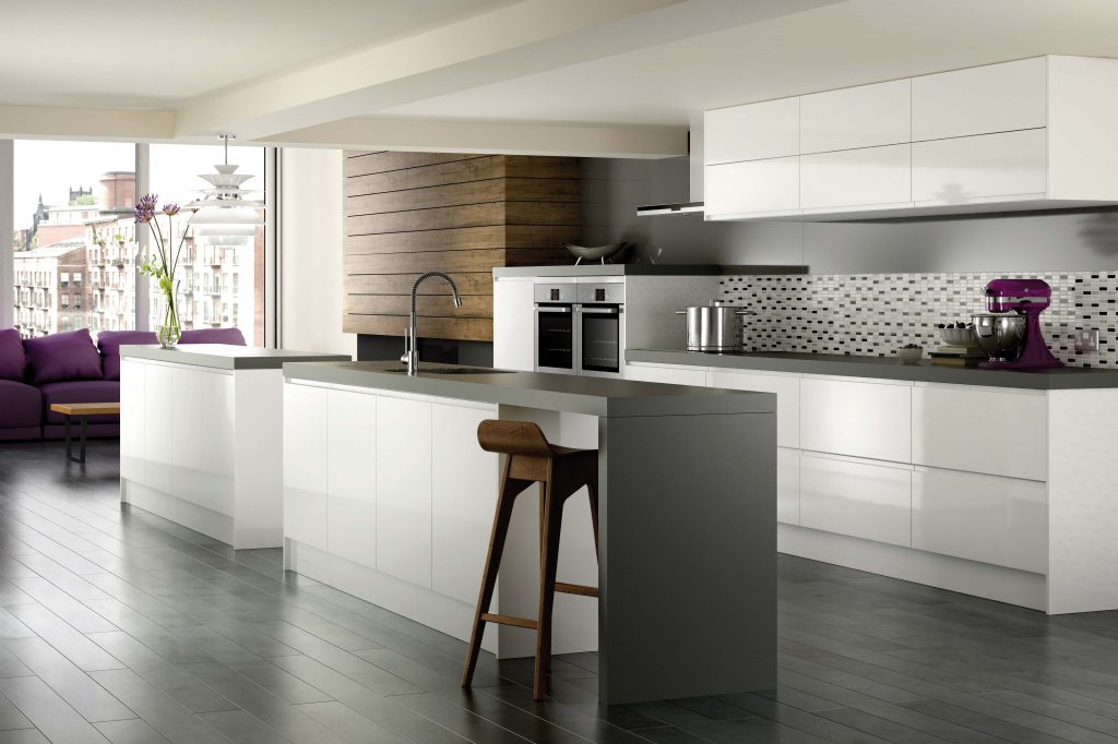 White Grey Kitchen Designs Engaging Images Of On Remodeling Gallery