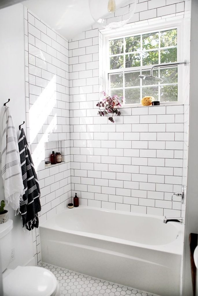 White Tile Bathroom Attorneylizperry