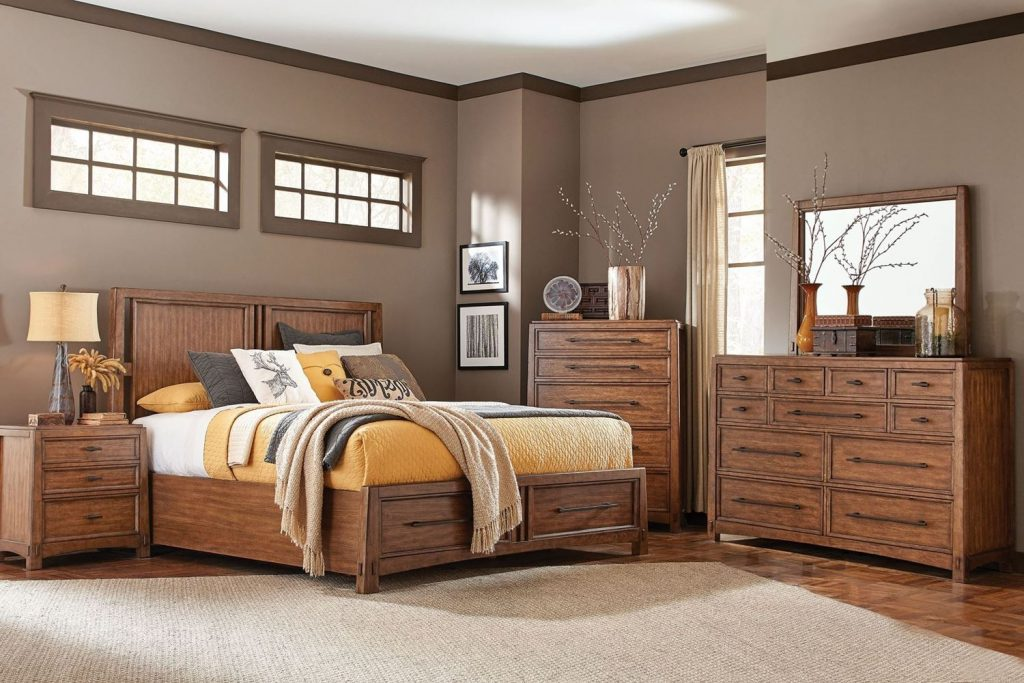 Windser Bedroom Set Walker Furniture Las Vegas