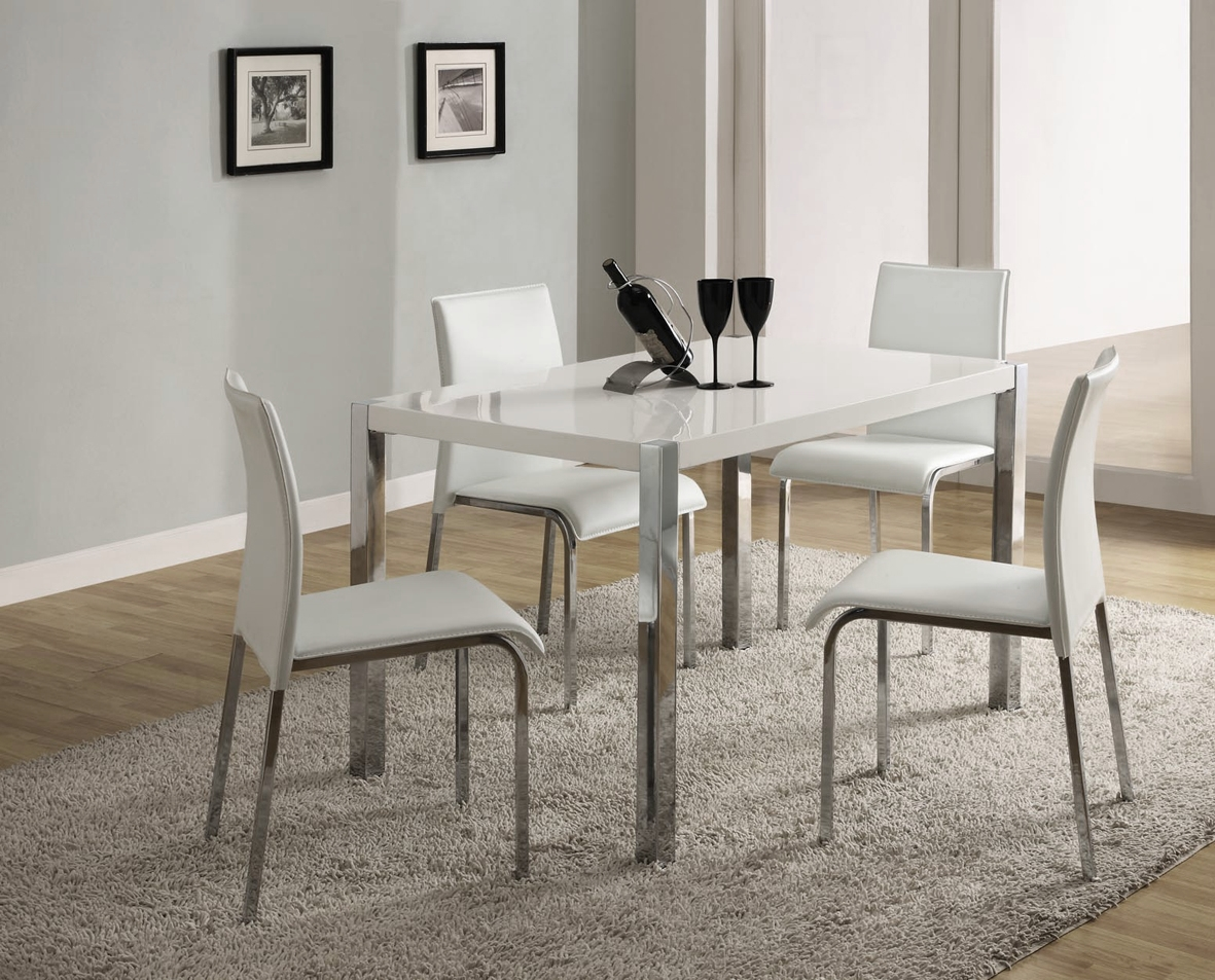 Wonderful Small White Dining Room Table 9 Furniture Good Modern ...