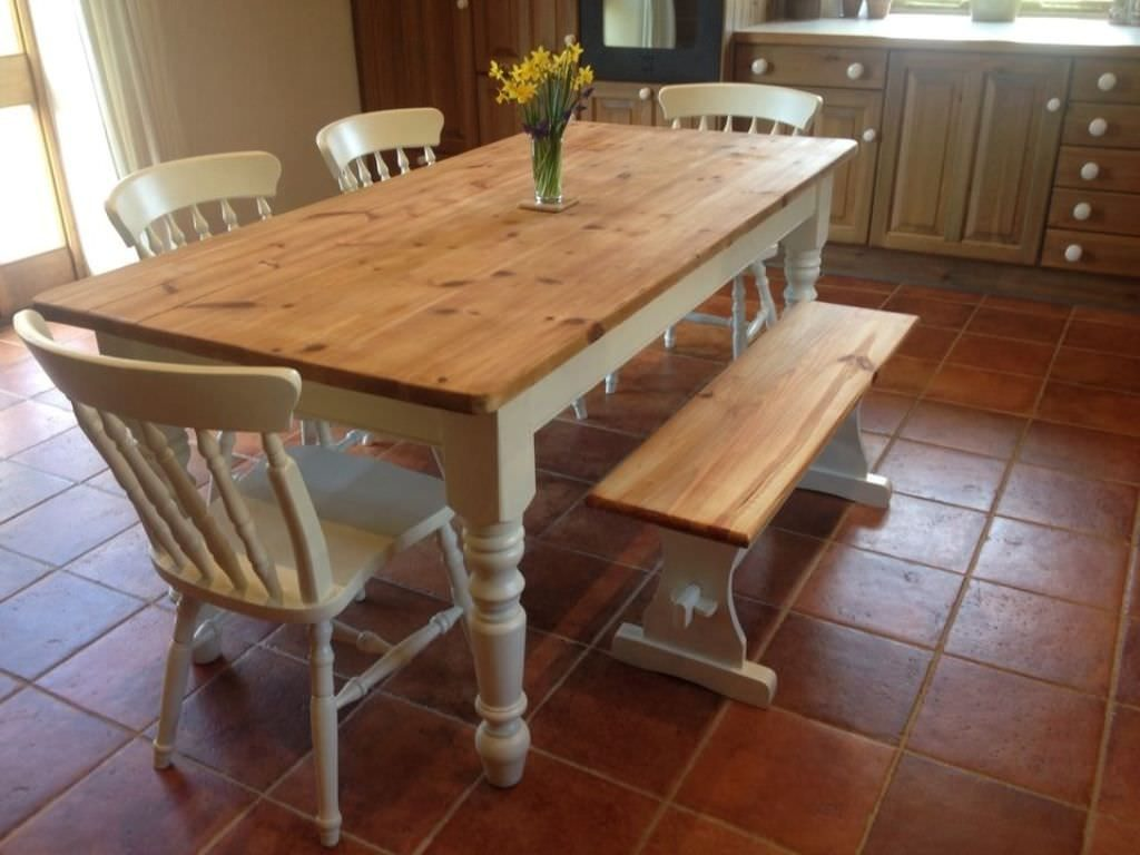 Wooden Farmhouse Dining Table Cabinets Beds Sofas And