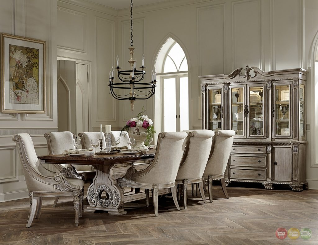 Yimg Comayyhst Orleans White Wash Traditional Formal Elegant Dining