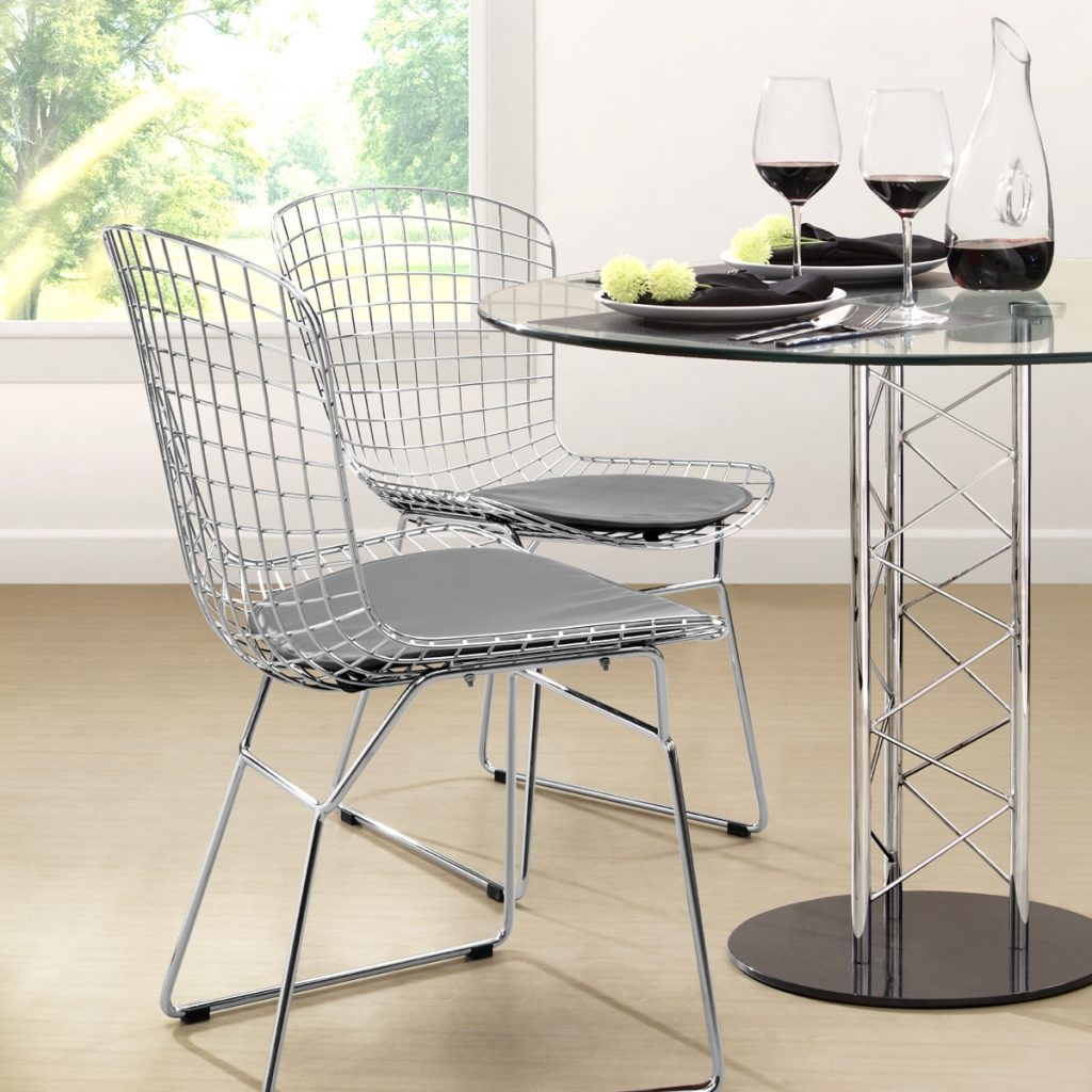 Zuo Modern Wire Dining Chairs Dining Room Chairs Vancouver