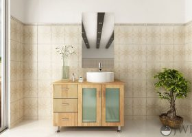 Bathroom Vanities Real Wood