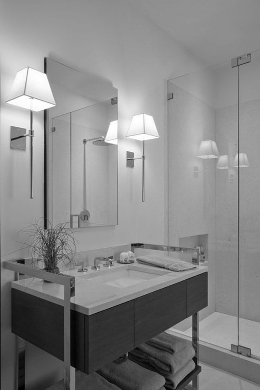13 Stylish Modern Bathroom Wall Sconces Youll Love The Pictures