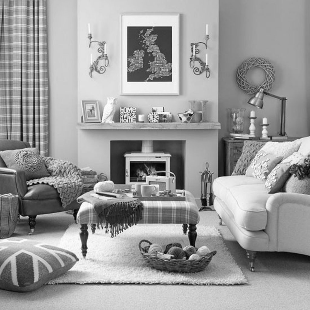 15 Decor Ideas Grey And White Living Room On A Budget Home Design