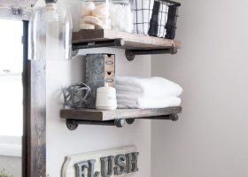 Bathroom Ideas Shelves