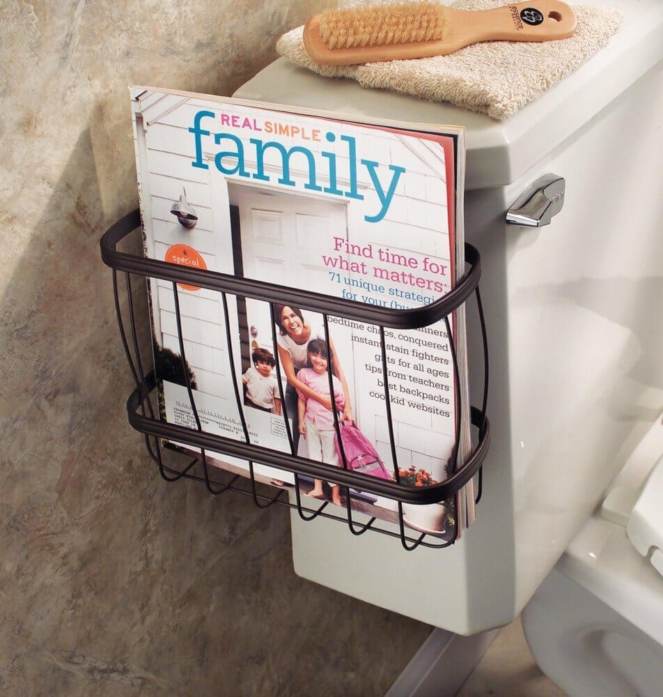 23 Best Bathroom Magazine Rack Ideas To Save Space In 2018