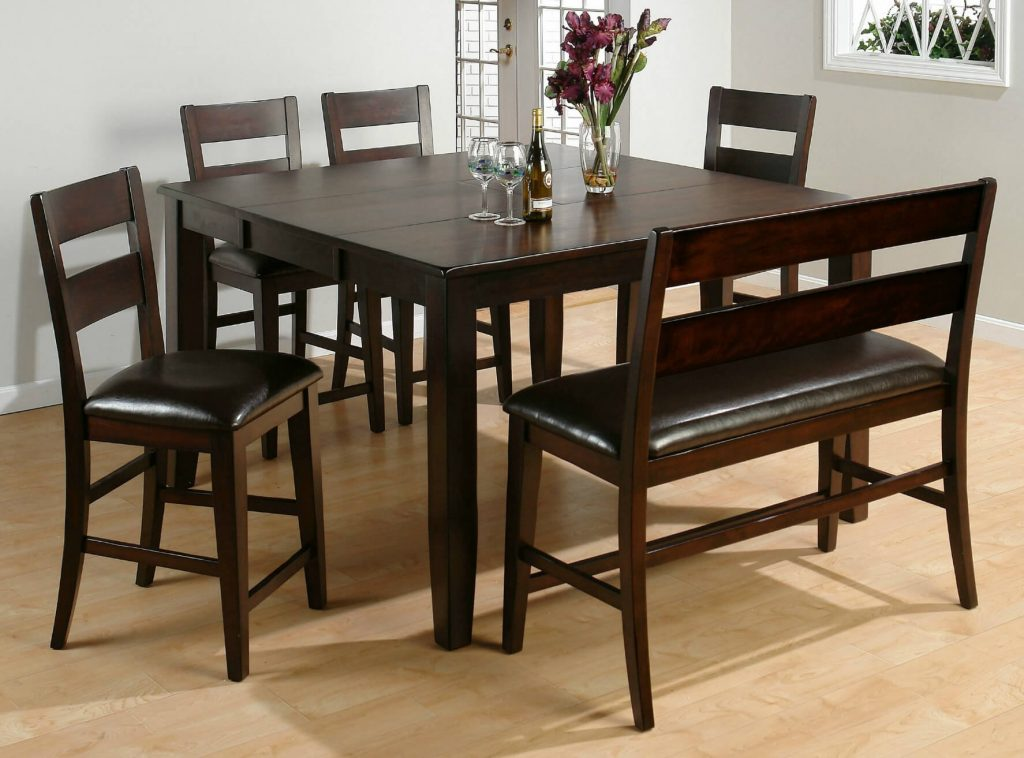 26 Big Small Dining Room Sets With Bench Seating Bar Height Kitchen