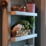 30 Rustic Country Bathroom Shelves Ideas That You Must Try In 2018