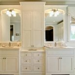 30 Wonderful Bathroom Vanities And Linen Cabinets Eyagci Inside