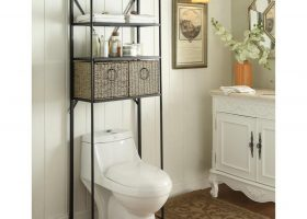 Bathroom Over Toilet Storage