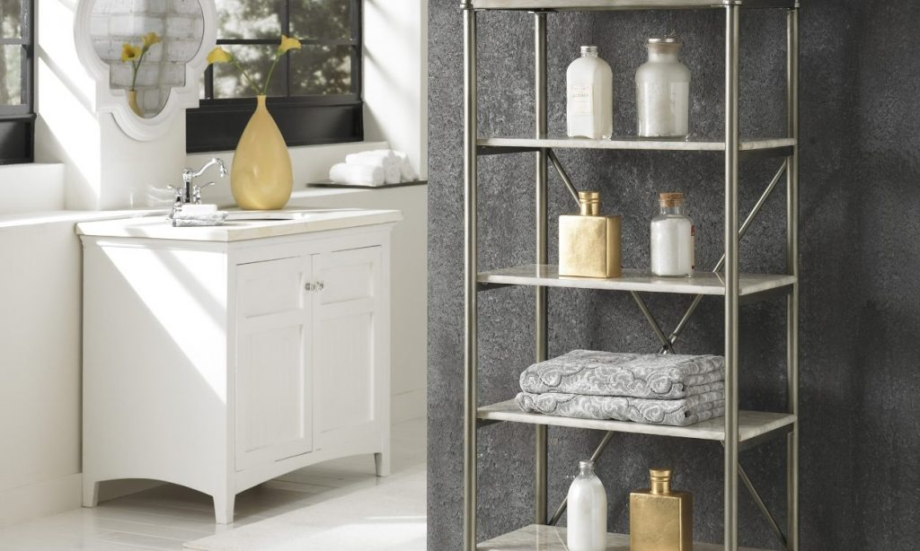 5 Great Ideas For Bathroom Shelves Overstock