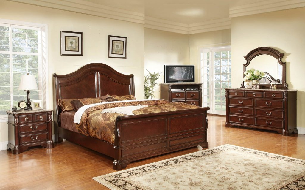 6pc Monte Carlo King Bedroom Set Bel Furniture Houston San