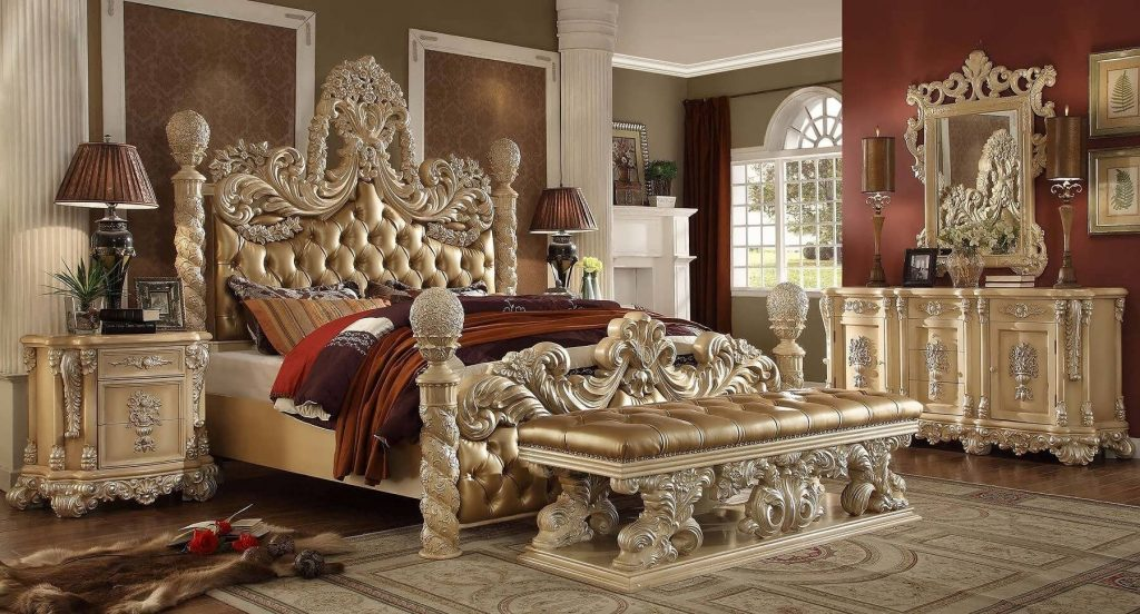 7 Amazing Royal Style Bedroom Sets Bedroom Incredible Victorian