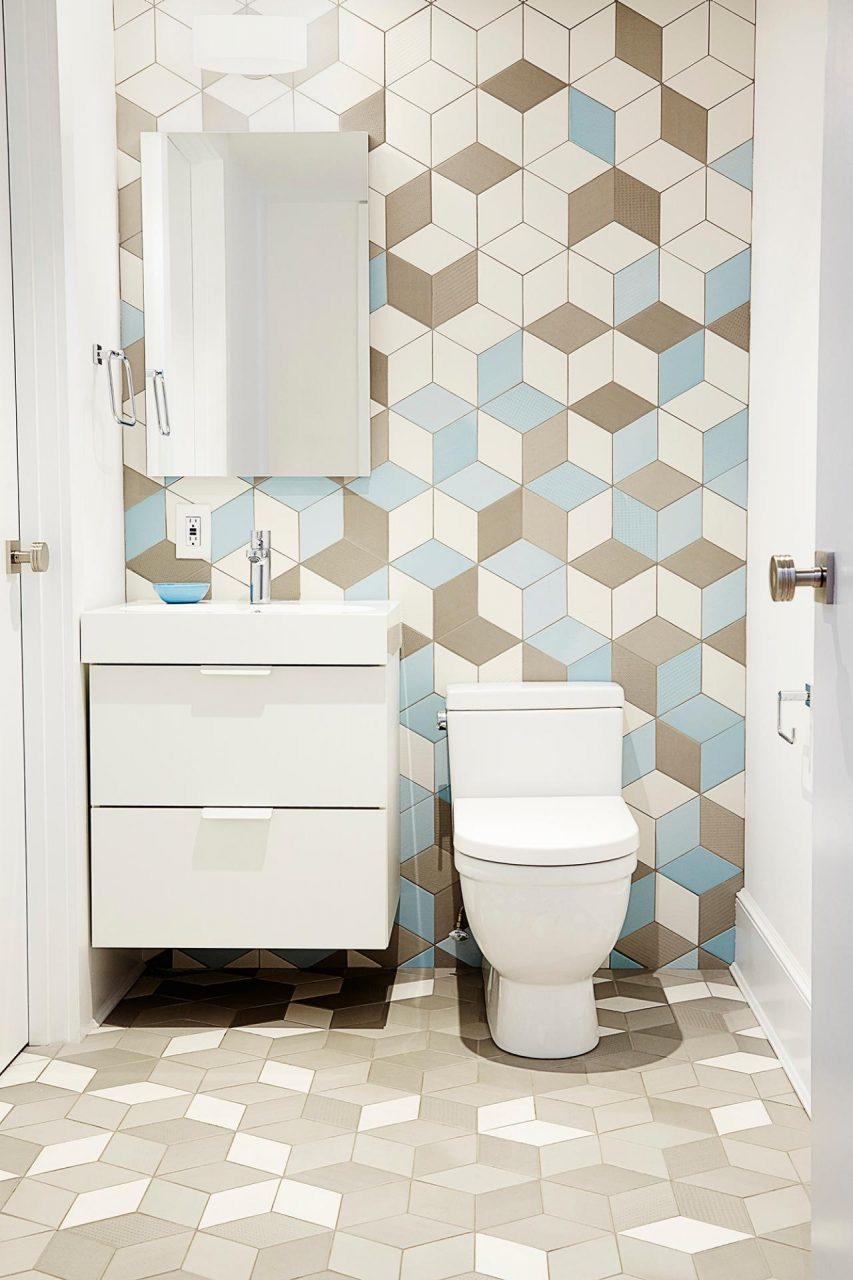 9 Bold Bathroom Tile Designs Hgtvs Decorating Design Blog Hgtv